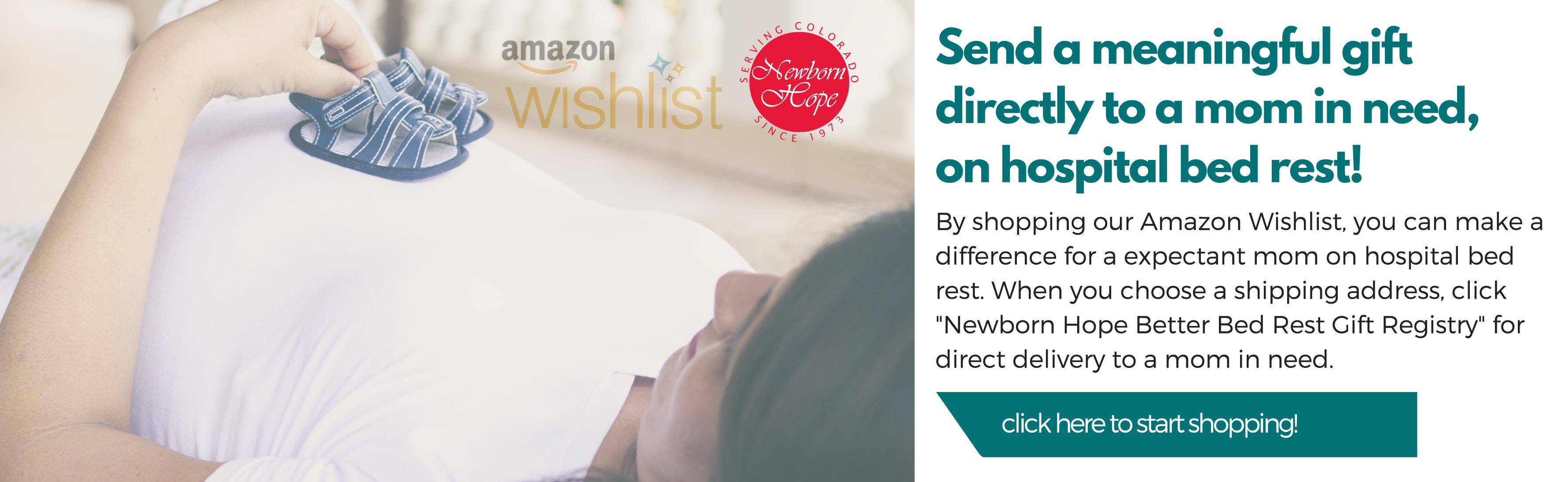 Amazon wishlist web banner