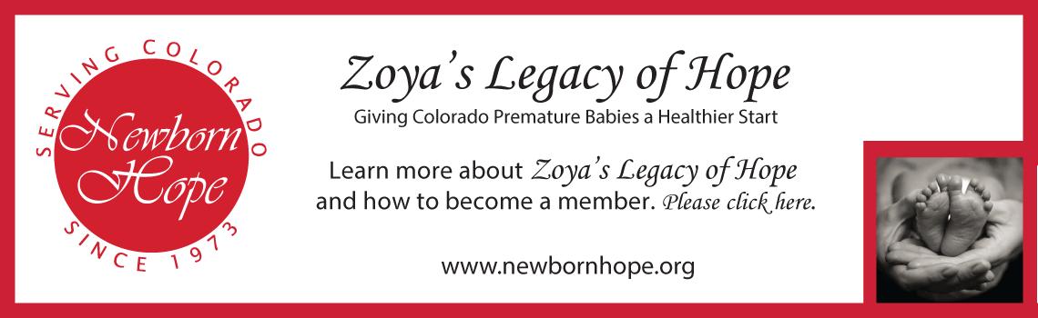 Zoya's Legacy of Hope - Newborn Hope