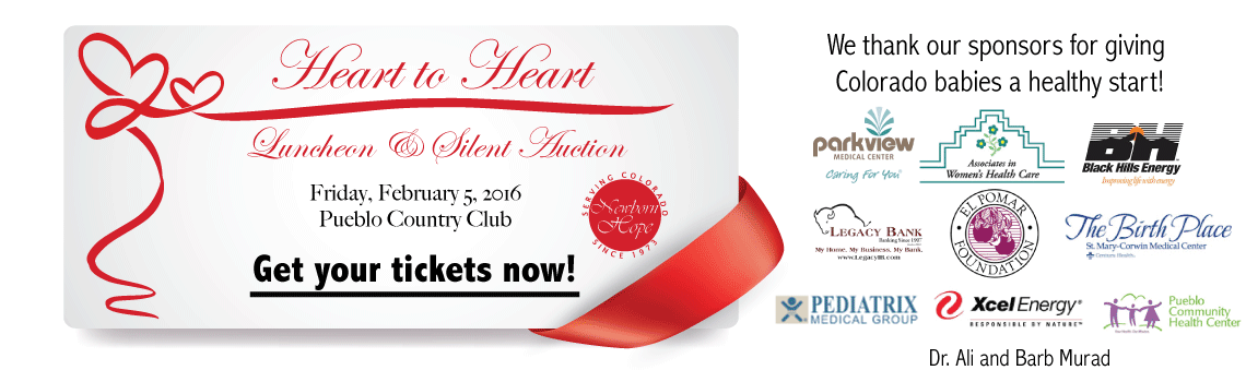 Heart to Heart Luncheon and Silent Auction - Pueblo events - Newborn Hope