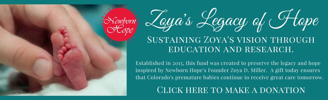 Zoya's Legacy of Hope new
